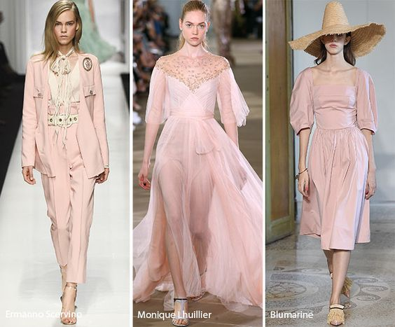 Spring/ Summer 2017 Color Trends: Pale Dogwood Pink: