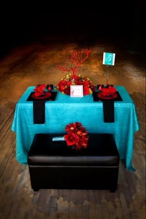 Sioux Falls Wedding – Red and Teal | South Dakota Wedding Style