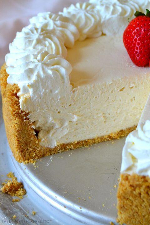 Best Ever No Bake Cheesecake Recipe Cheesecake Recipes Classic Easy Cheesecake Recipes Best No Bake Cheesecake
