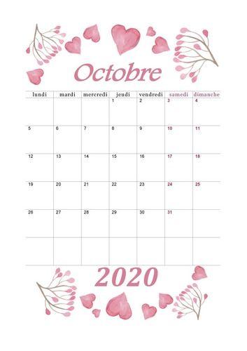 Octobre 2020   Aquarelle #calendrier2020 #octobre2020