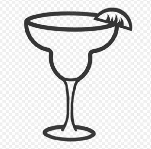 Cocktail SVG Clip Art Schnitt Dateien Margarita Svg Martini   Etsy