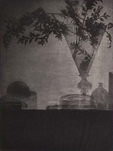Baron Adolf De Meyer. 'Glass and Shadows' 1905 Photogravure