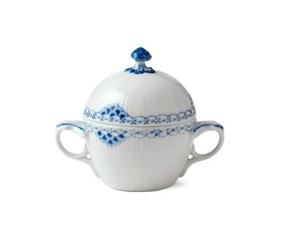 Royal Copenhagen Princess Sugar bowl with lid, 20 cl