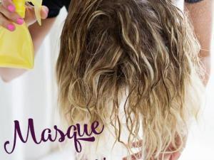 masque naturel cheveux hydratant et claircissant hellocotonfr - Eclaircissant Cheveux Colors