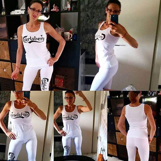 Tagged! Il legghins #bianco ?!?! #permoltimanonpertutti !  si fa le #prove per il #10settembre2016 #ibombardinidellamore ... potrei venire anche cosi#bodibuilding #naturalbodybuilding #nbfi #trainer #MR_TRAINER_LAB #personaltrainer #coach #eatgoodfeelgood #eatclean #palestra #salapesi #allenatore #quasisposi #fitnessmotivation #nientescuse #nientetrucchi