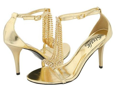 prom gold shoes 3 | Prom Shoes | Pinterest | Beautiful, Prom shoes ...