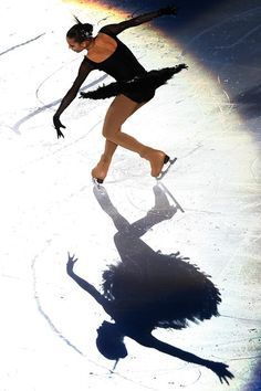 Going ice skating! Not as good as the lady in this pic. But at least I can stand up in my skates! ;)