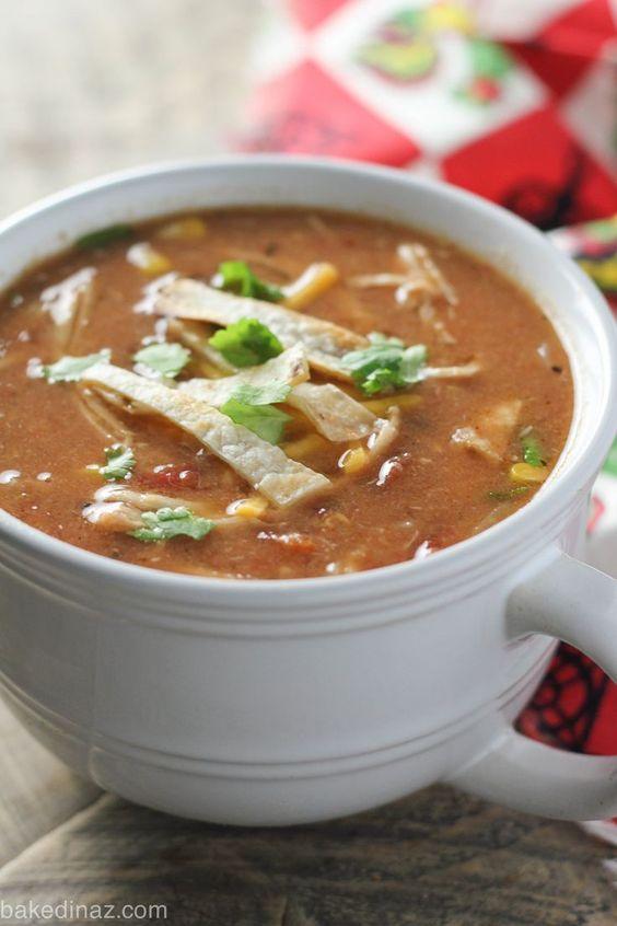 light chicken tortilla soup recipe