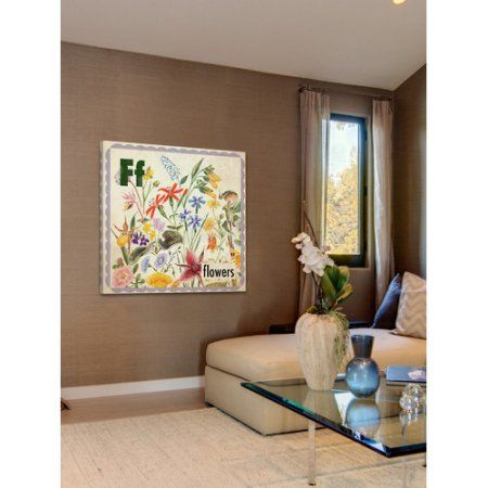 Marmont Hill Flowers by Curtis Painting Print on Canvas, Multicolor