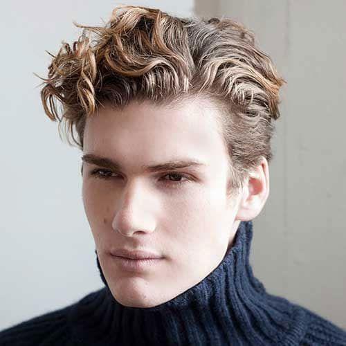 40 Best Blonde Hairstyles For Men 2020 Guide Curly Hair Men