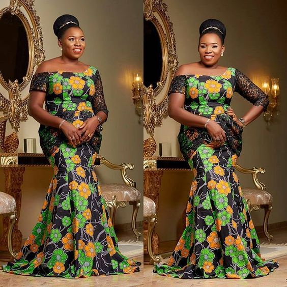 Cutie Latest Ankara Long Gown Styles With Different Hand Length You've Not Seen...Cutie Latest Ankara Long Gown Styles With Different Hand Length You've Not Seen