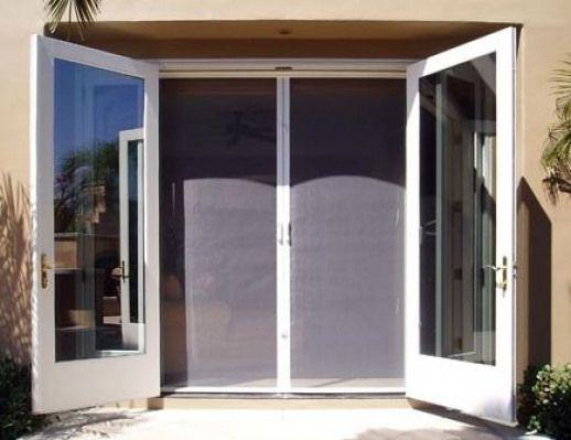 Retractable Screen Door For French Doors Patio Patio Doors French Doors French Doors Patio French Doors With Screens