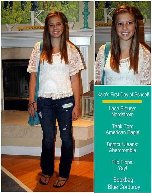 Another great teen/tween outfit