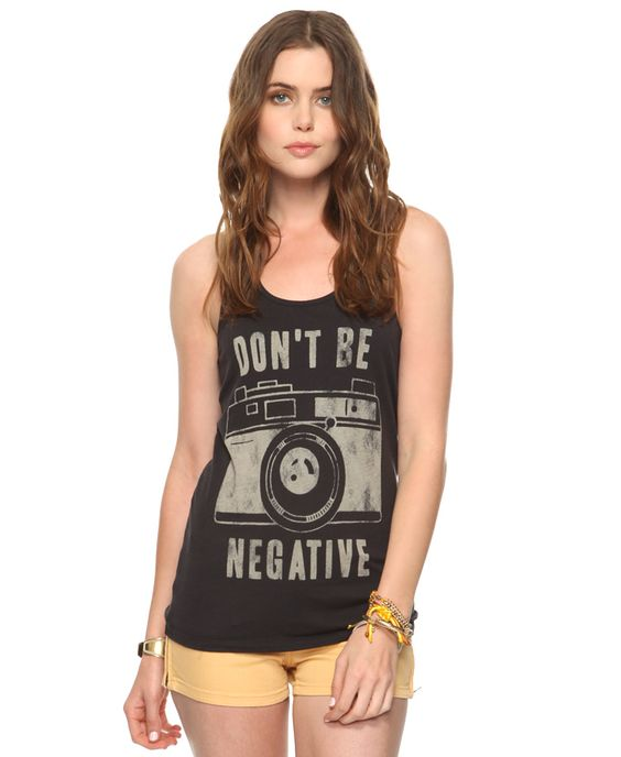 Don't Be Negative Top
