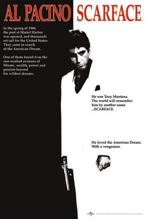 Scarface - Movie One-Sheet Poster at AllPosters.com