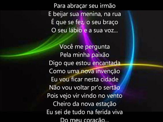 ELIS REGINA / como nossos pais- lyrics