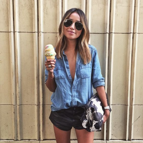 "Julie Sariñana on Instagram: ""Ice cream for 90 degree weather!  / 3.16.15 #hotupinhere"""