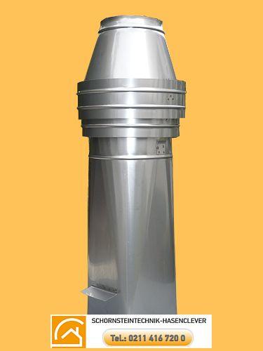 Sorex V4A Schornsteinaufsatz  0,5m 20x20cm 185,00  € Schornsteintechnik Kamintechnik Hasenclever http://schornsteinbauteile.de/