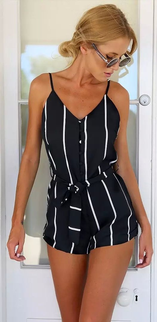 If ever I wore a romper... I'd want it to look like this! Discover more rompers of 2015 at CUPSHE.com with factory direct price and Free Shipping!: