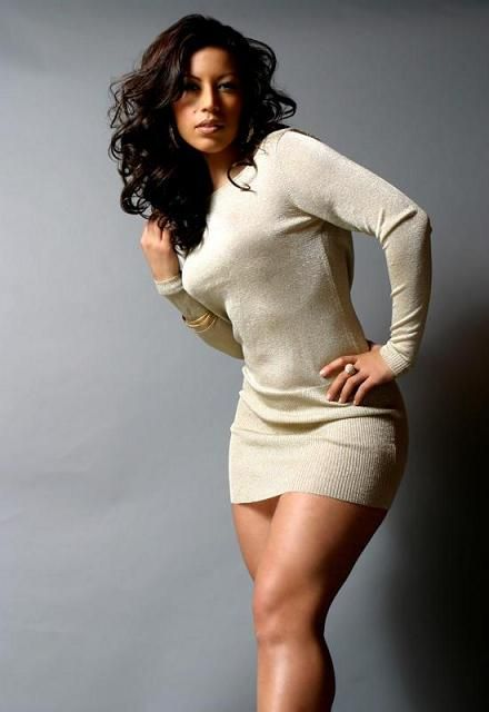 Sexy curvy white women