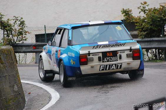 DSC_9959 - Fiat 131 Abarth - 4-2000 - Paganoni Emanuele-De⦠| Flickr