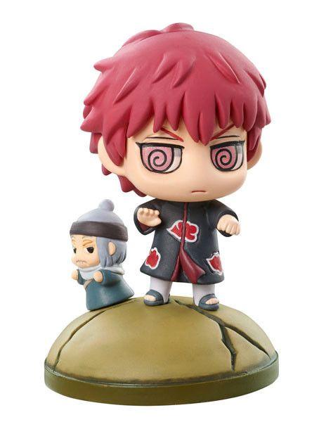 Naruto Shippuden Petit Chara Land Naruto & Akatsuki ( Sasori )   Naruto - Anime / Manga / Game Figuren - Hadesflamme - Merchandise - Onlineshop für alles was das (Fan) Herz begehrt!
