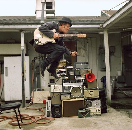"""I've lost my equilibrium, my car keys, and my pride."" - Tom Waits"