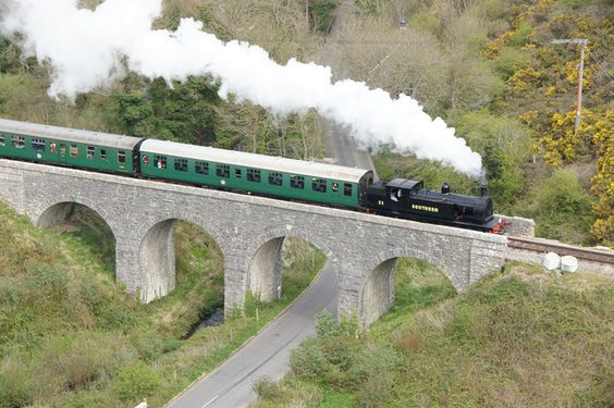Swanage Railway, Dorset offers a more intensive heritage steam and diesel timetable train service than virtually any other preserved railway. Steam and diesel galas, Family events plus regular Evening Dining and Sunday Lunch services complement themed events such as our highly popular Santa Special trains during the run up to Christmas. Distance from Shaftesbury to Swanage Railway Station is 32 miles.