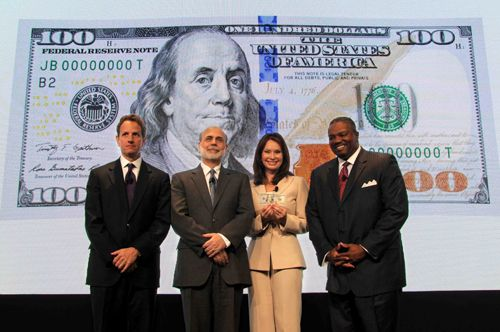 UNVEILING OF THE NEW $100 NOTE
