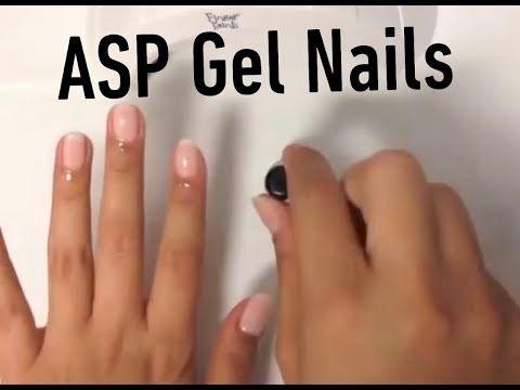 Asp Gel Polish Tutorial Youtube Asp Gel Polish Gel Nail Tutorial Gel Polish Colors
