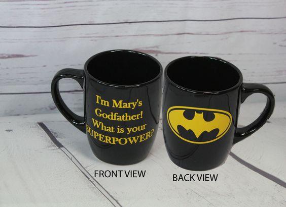 Batman Godfather Grandfather superpower Coffee Cup - 12oz Coffee Mug by BlueKitty2000 on Etsy