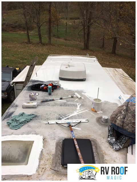 Rv Repair And Maintenance Keep Budget Low Business Press Releases Liquid Rubber Roof Sealer Rv Roof Repair