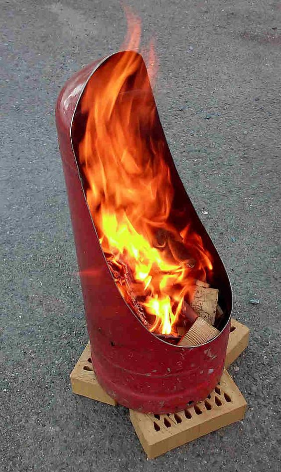 How to Make a Firepit From An Old Gas Bottle