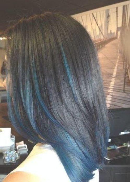 Pin Di Blue Hair