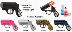 Pepper Spray | Mace | Tasers | Stun Guns | Personal Alarms | Batons | Home Protection: Did You Know That Mace Makes A Pepper Gun?