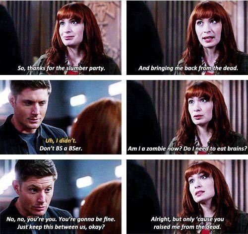 Dean and Charlie   Supernatural