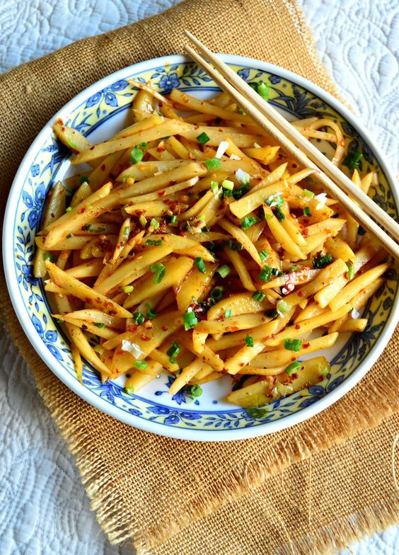 Sichuan Shredded Potatoes