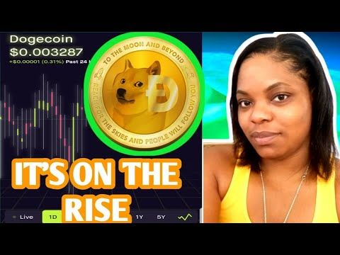 Dogecoins Cryptocurrency Is On The Rise Dogecoin Cryptocurrency Robinhood Investing Dogecoin Youtube In 2020 Investing Apps Investing Cryptocurrency