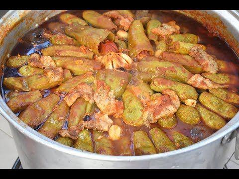 المحاشي الحمصية بكمية كبيرة عند أهلي كيف حضرناها تابعوا التفاصيل خطوة خطوة Youtube Middle Eastern Recipes Food Traditional Food