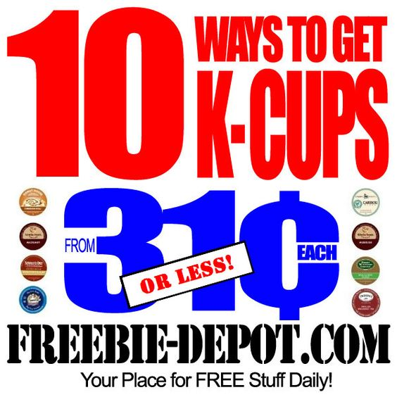 10 Ways to get Cheap K-Cups - from 31¢ (or less) - Keurig ...