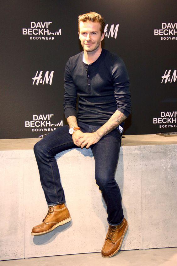 David Beckham Brings His Boxer Briefs to Berlin | Photos: