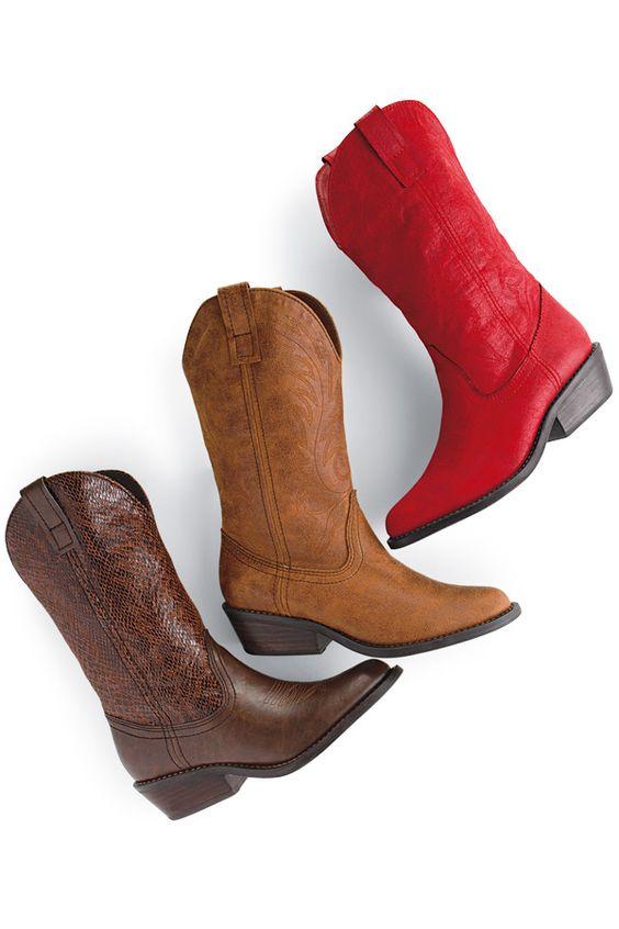 Shoes - Belk.com   Red cowboy boots