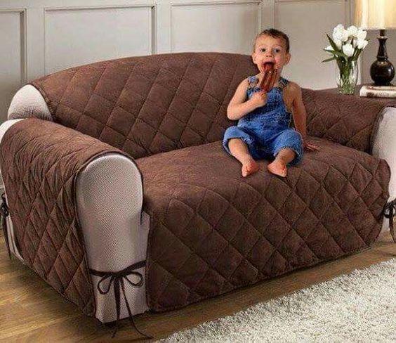Forro para sofa sillas pinterest sof s for Cobertores para muebles de sala