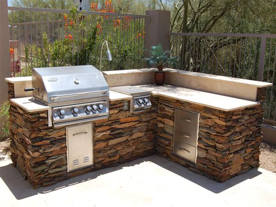yard kitchen outdoor living outdoor grill area outdoor grills outdoor