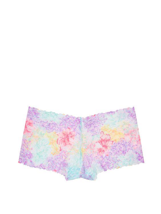Wildflower Lace Boyshort - PINK - Victoria's Secret