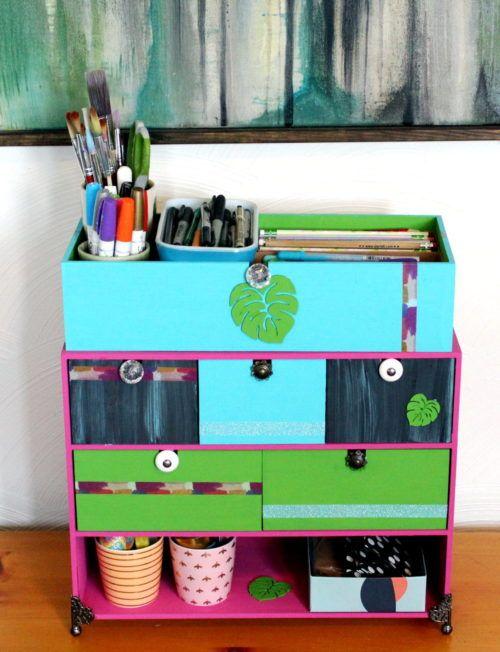 Diy Crafts Desk Organizer Ikea Hack Soap Deli News Diy Crafts Desk Desk Organization Ikea Craft Desk