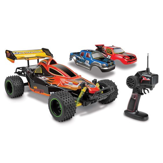 World Tech Triple Threat 3-in-1 Hobby 1:12 RTR Electric RC Truck