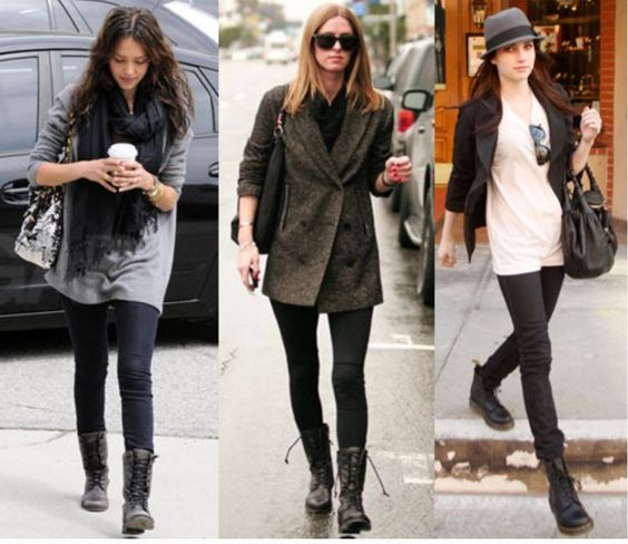 Would You Wear... Combat Boots? | Fall, Love and Combat boots