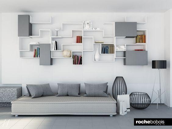 #Casa Al #Mare #Roche #Bobois #Style Divano #Escapade Composizione  #Ferdinand E Vetrina #Mougin   3D VISUALIZATIONs   Pinterest