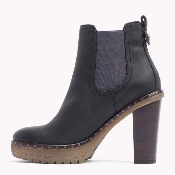 Tommy Hilfiger Cleo Ankle Boots - black (Schwarz) - Tommy Hilfiger Stiefel & Stiefeletten - detail-Bild 2